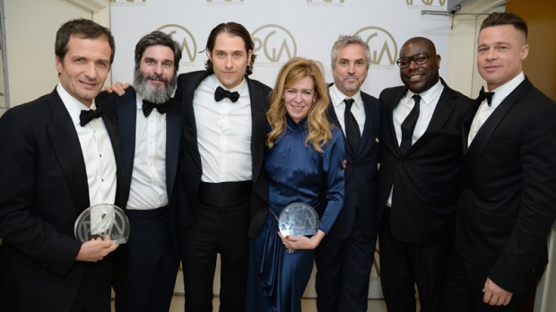 Rare tie for Producers Guild's top award: '12 Years a Slave