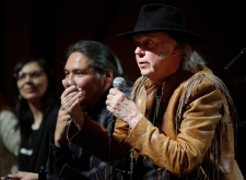 Neil Young oilsands concert Calgary
