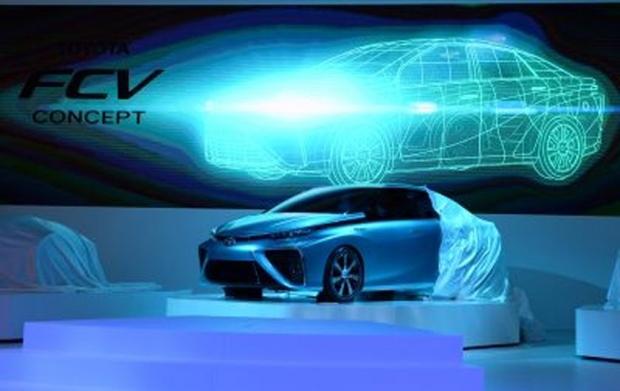 Toyota Motors' FCV