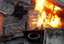 Anti-government protests continue in Ukraine