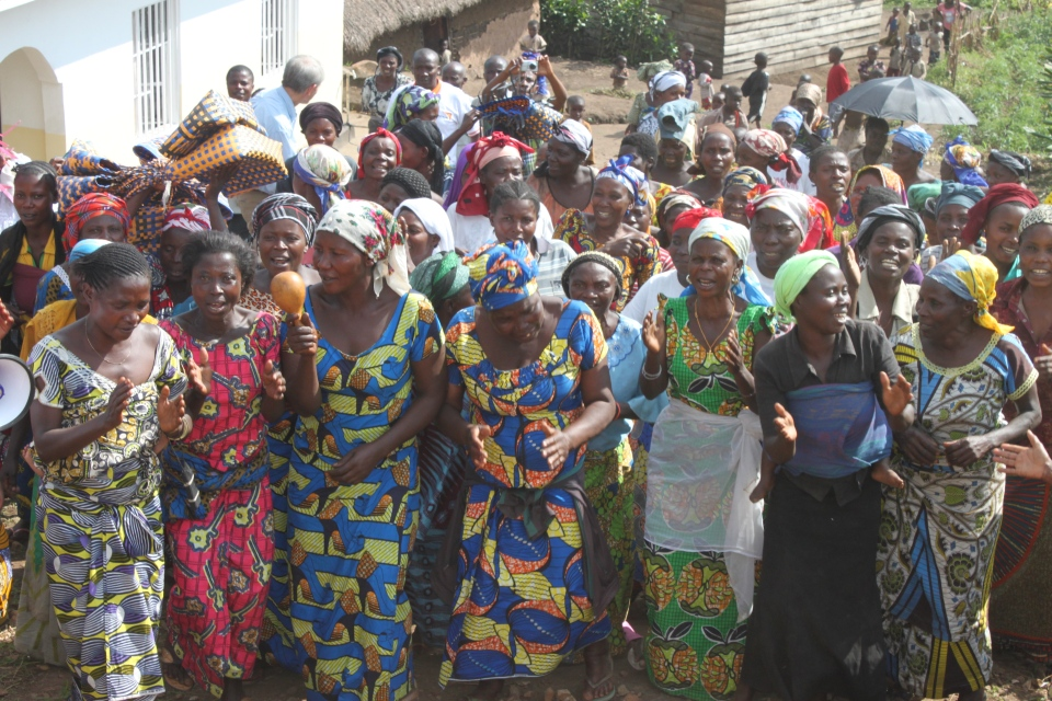 Women supported by the CAMPS (Centre d'Assistance Medico - Psychosocial) centre for survivors of rape and sexual violence in the DRC. (Darcy Wintonyk/CTV)