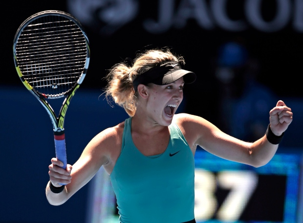 Eugenie Bouchard, Australian Open
