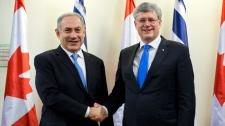 Netanyahu and Harper in Jerusalem