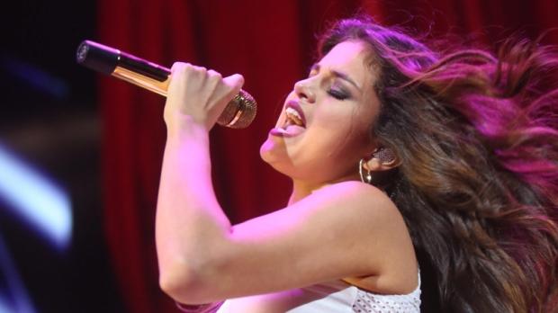 Selena Gomez in Dallas on Nov. 3, 2013