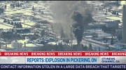 CTV News Channel: Explosion in Pickering, Ont.