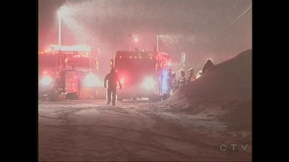 CTV Barrie: Collingwood business destroyed