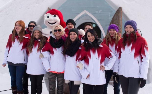 Canada's snowboard team named