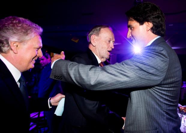 Jean Charest, Jean Chretien, Justin Trudeau