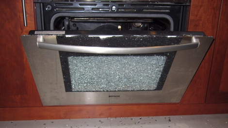 A Vancouver Woman Is Concerned After Her Bosch Oven Door Exploded. August  31, 2011