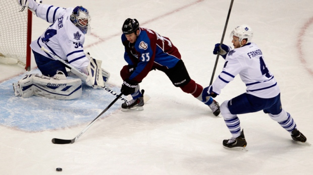 Leafs and Avalanche play in Denver