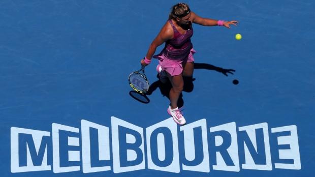 Victoria Azarenka at the Australian Open