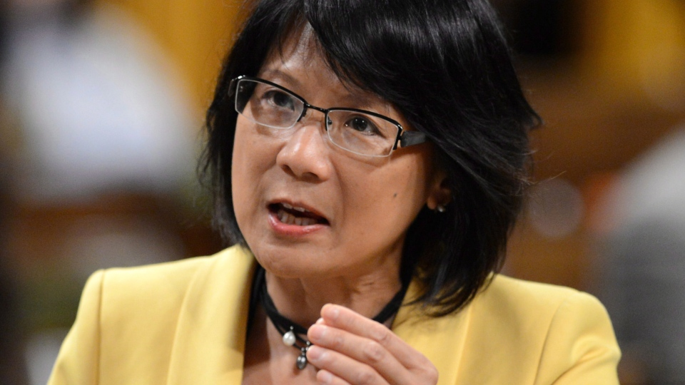 NDP MP Olivia Chow asks a question during question period in the House of Commons on Parliament Hill in Ottawa on Tuesday, June 11, 2013. Olivia Chow's memoir lays bare her life's most painful moments. (Sean Kilpatrick / THE CANADIAN PRESS)