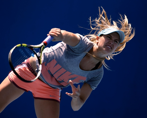 Eugenie Bouchard faces Li Na of China
