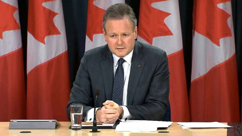 Bank of Canada Governor Stephen Poloz speaks during a press conference in Ottawa, Wednesday, Jan. 22, 2014.