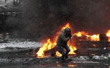 Two men dead Ukraine clashes