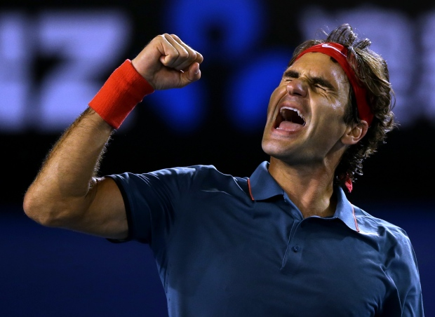 Roger Federer advances to semis at Australian Open