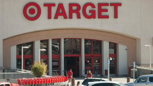 Customers shop at Target Eagle Rock store in Los Angeles, Tuesday, July 16, 2011. (AP / Damian Dovarganes)