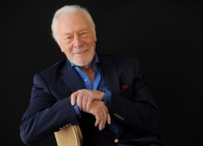 In this July 25, 2013, file photo, Christopher Plummer poses for a portrait at the Beverly Hilton Hotel in Beverly Hills, Calif. (Photo by Chris Pizzello/Invision/AP, File)