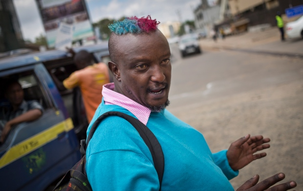 Image result for Binyavanga Wainaina: Kenyan author and gay rights activist dies