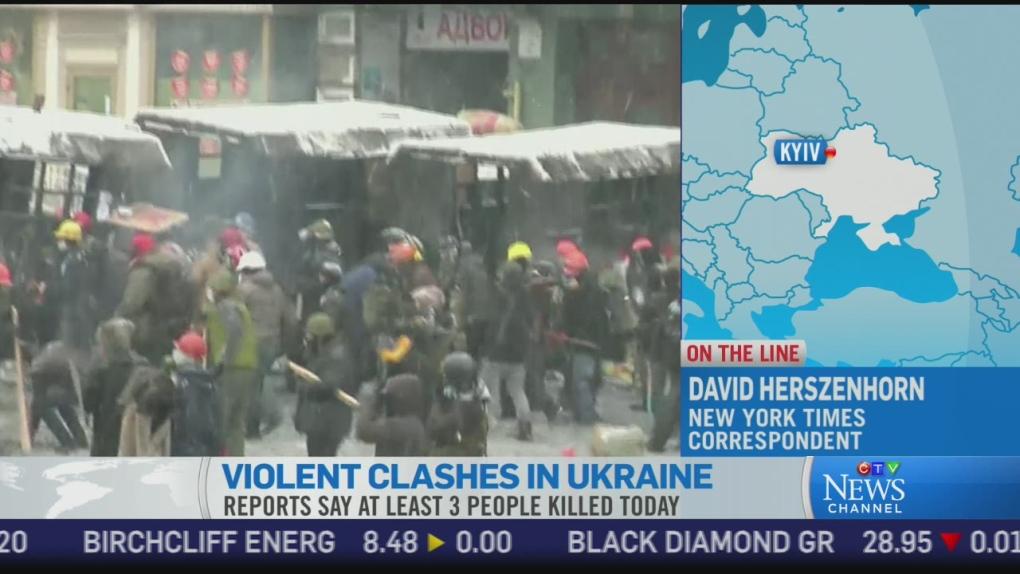 CTV News Channel: Scenes of mayhem on the streets | CTV News