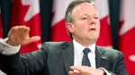 Bank of Canada Governor Stephen Poloz speaks with the media following an interest rate announcement in Ottawa, Wednesday, Jan. 22, 2014. (Adrian Wyld / THE CANADIAN PRESS)