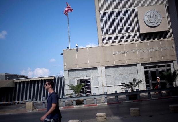 U.S Embassy in Tel Aviv
