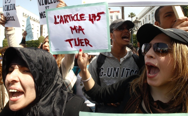 Morocco rape law