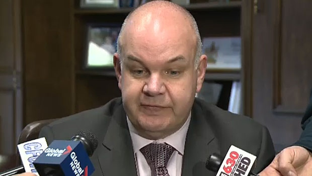 Alberta Health Minister Fred Horne says he will pursue the breach of confidential information that occurred four months ago to the full extent of the law.