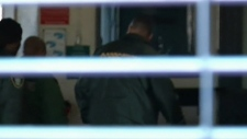 Bieber arrest photo Miami officer