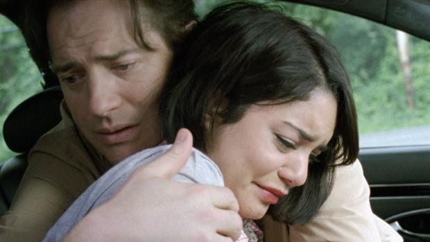 Brendan Fraser, Vanessa Hudgens in 'Gimme Shelter'