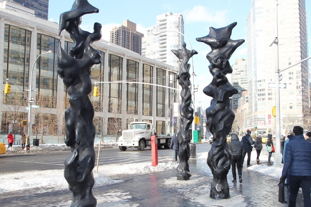 Herb Alpert sculptures
