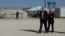 Harpers at the Za'atari Refugee Camp in Jordan