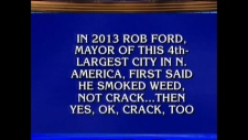 Extended: Rob Ford trivia appears on Jeopardy