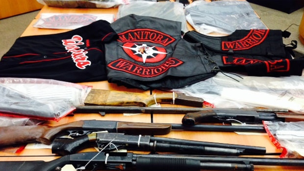Manitoba Warriors arrests