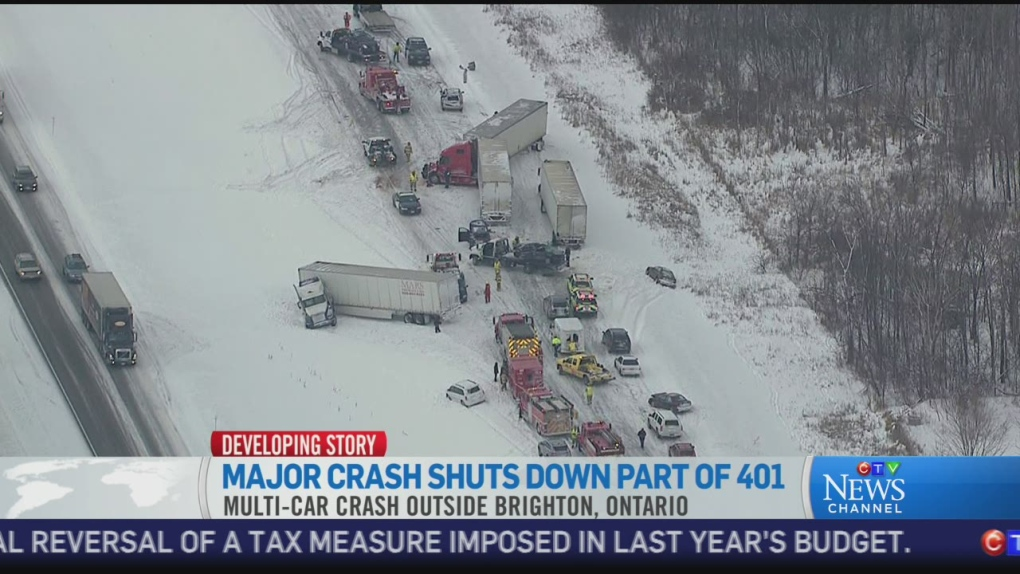 Ctv News Channel Jan 2014 Crash Near Brighton Ctv News