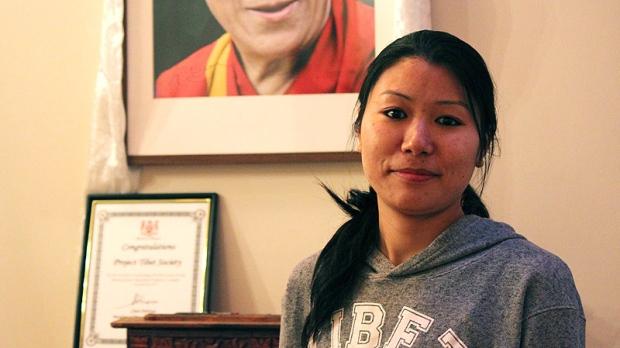 Tibetan refugee Tenzin Zeden in Toronto