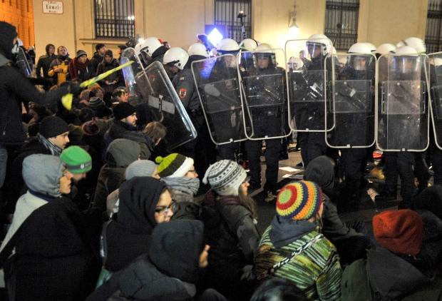Vienna demonstrators