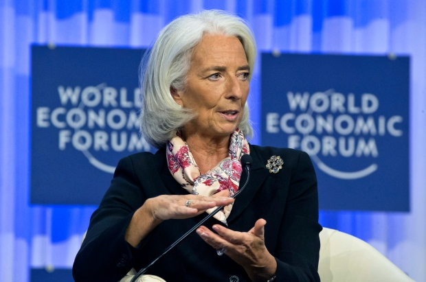 Christine Lagarde warns of global risks