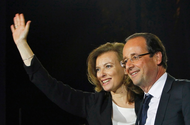 Francois Hollande ends relationship
