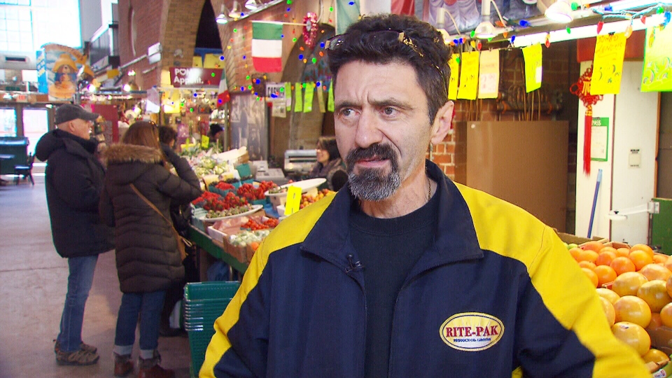 Ponesse Foods owner Mario Aricci says he's already noticed prices going up at St. Lawrence Market in Toronto.