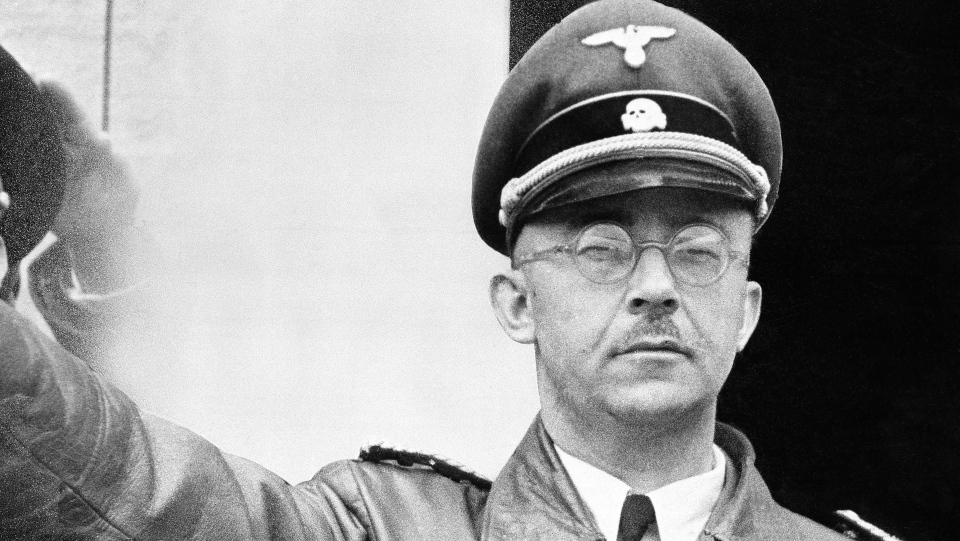 Nazi SS leader Heinrich Himmler is shown in an undated file photo. (AP Photo)