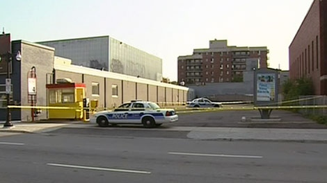 Ottawa police aren't releasing many details about the body found in this King Edward Avenue parking lot Friday, Sept. 2, 2011.