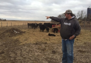 Jim Tarnick, seen on his property in Fullerton, Neb., says he has no intention of signing to allow the Keystone XL pipeline on his land. (Alex Panetta / THE CANADIAN PRESS)