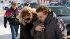 Memorial held for Quebec fire victims