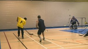 CTV Montreal: Floor hockey gets mentally ill in th