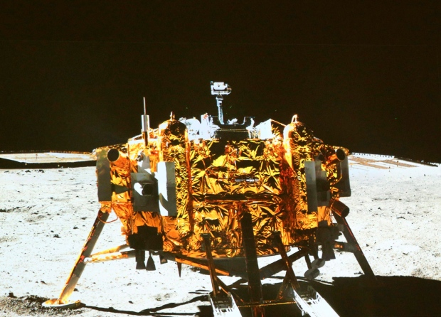 China sends lunar rover into space