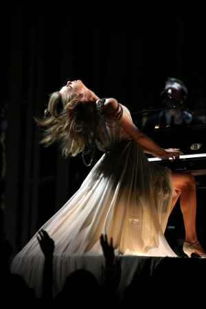 Strange, racy and inspiring moments at the Grammy