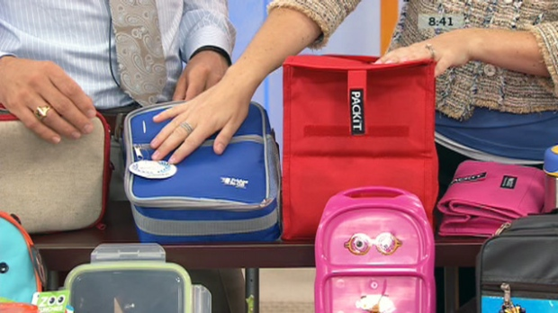 Germs could be lurking in kids' lunch boxes