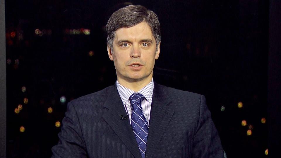 Vadym Prystaiko, Ukrainian ambassador, appears on CTV's Power Play on Monday, Jan. 27, 2014.
