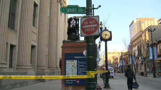 Downtown stabbing - Calgary